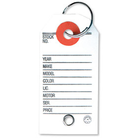 Reinforced Paper Key Tags