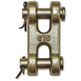 """B/A G70 3/8"""" Double Clevis WLL 6600 lbs."""