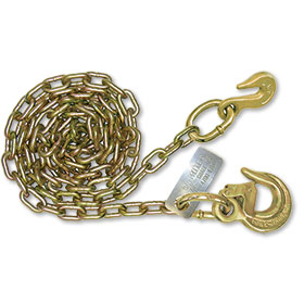 """B/A G70 5/16"""" Chain with 2 Hooks, 12'  WLL 4700 LBS"""