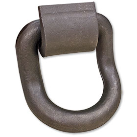 "B/A 1"" Forged Curved Steel D-Ring  WLL 15580 LBS"