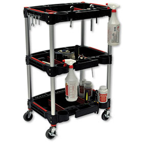 Mechanics Three-Shelf Cart