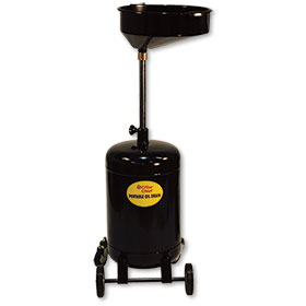 16-Gallon Steel Oil Drain