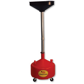 Portable Poly Oil Drain 8-Gallon Capacity