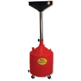 18 Gallon Capacity Portable Poly Oil Drain