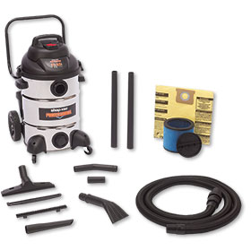 Professional Shop-Vac With Stainless Steel Tank