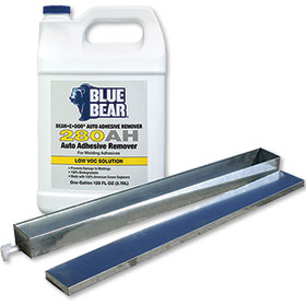 Blue Bear Bean-E-DOO Adhesive Remover W/ Steel Tray and Lid