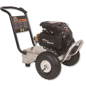 Portable Gas-Powered Pressure Washers 2500 PSI