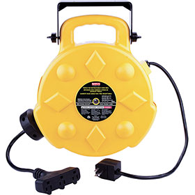 Bayco 50' Triple-Tap Retractable Cord Reel SL-8903