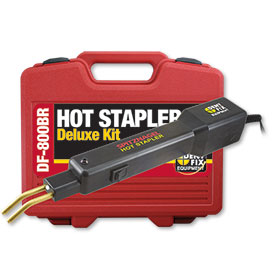 Dent Fix Hot Stapler Plastic Repair Deluxe Kit DF-800BR