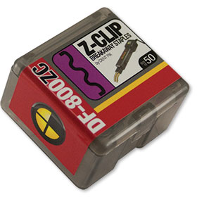 Dent Fix Breakaway Staple -Z Clip -Package of 50