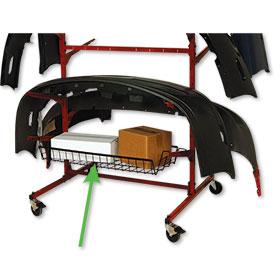 Mega Bumper Mobile Rack - Basket