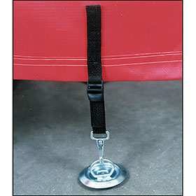 Floor Mount Wind Ties (Style C)
