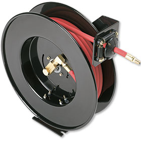 "Retractable Reel with 50' x 3/8"" PVC Hose"
