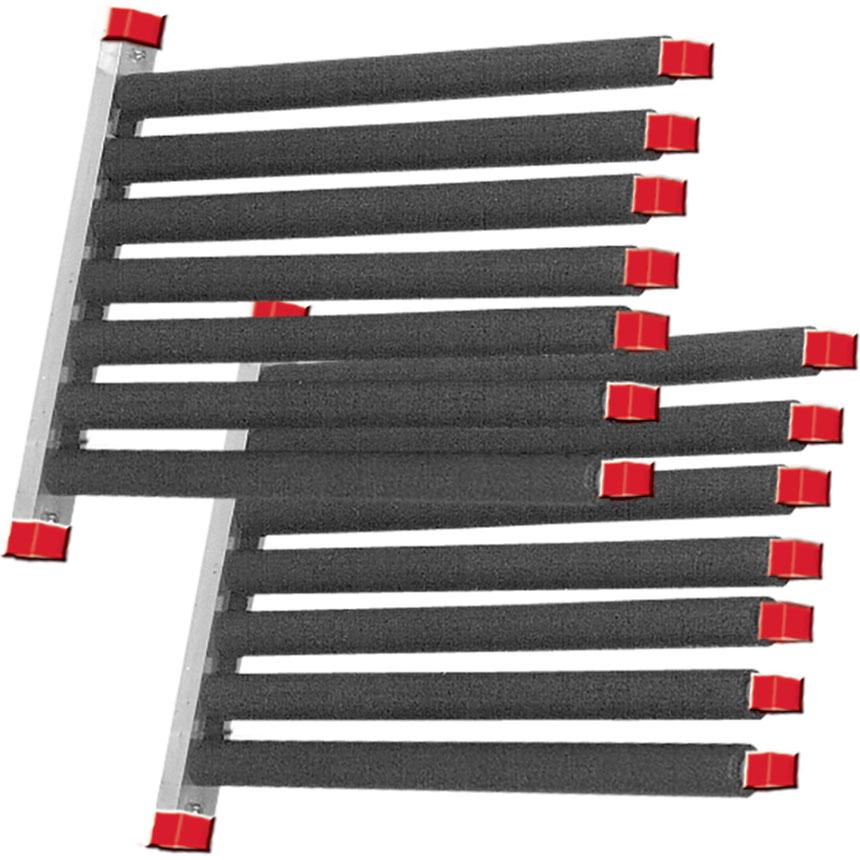 Windshield Rack - 6 Pocket