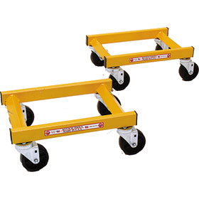 Keysco Wheel Dollies (2) Holds 1200 LBS