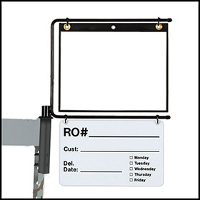 Parts Caddy RO Holder With Dry Erase Kit
