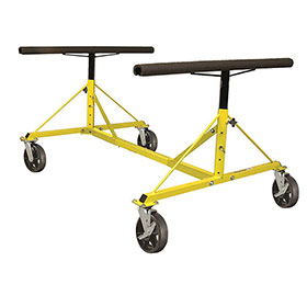 4-Way Dolly With 4 Locking Wheels