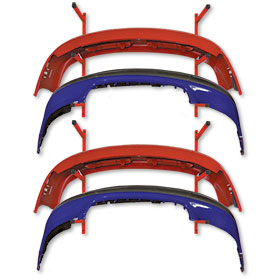 Super Mega Wall Mount Bumper Rack