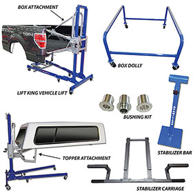 Pro Line Lift King- The Works Package