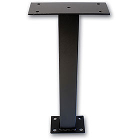 "24"" Surface Mount Post for Drop Box"
