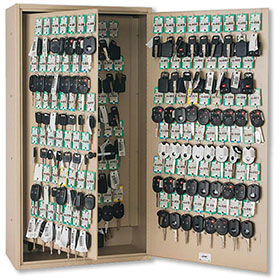 Fob-Friendly 30-Key Storage Cabinet