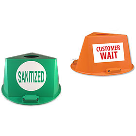 Magnetic Control Cap with Slogan or 1 Letter