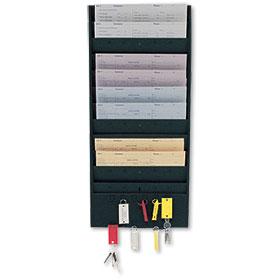 Repair Order Rack with Key Hanger