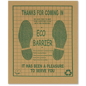 Eco-Barrier™ Recycled Paper Floor Mats