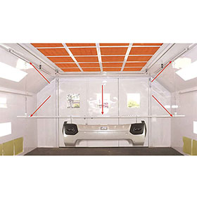 Auto Parts Glider 3-Rail System