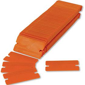 Plastic Razor Blades - Box of 100