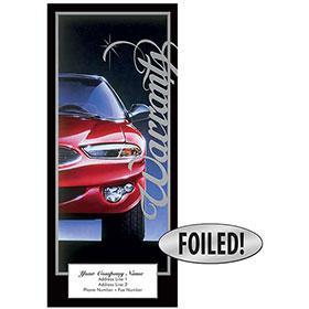 Auto Repair Written Warranty - Excellence, Platinum Foil