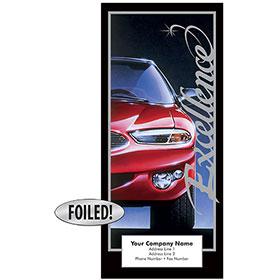 Auto Repair Brochures - Excellence, Platinum Foil