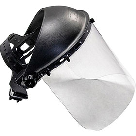 SAS Standard Protective Face Shield Clear 5140