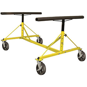 4-Way Pickup Bed Dolly with 2 Locking Wheels