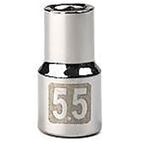 "5.5 MM 1/4"" drive socket std"