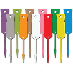 Bayonet Style Plastic Key Tags
