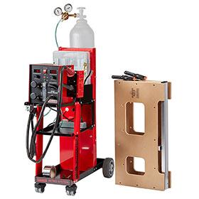 Polyvance Nitro Fuzer Nitrogen Plastic Welding System with Cart 6085-C