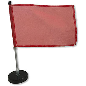 """6"""" x 9"""" Magnetic Vehicle Flag with Message"""