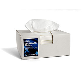 Spunlace Stack Pack Wipes White 83012