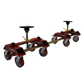 Uni-Dolly 9600 - Set of 4 with Connector Kit