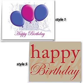 Automotive Birthday Cards