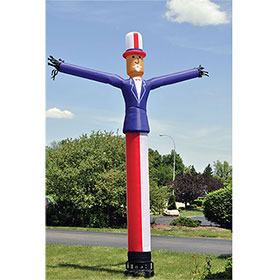 15' Inflatable Uncle Sam Dancing Man