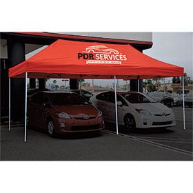 Event Tents - Custom 2-color 10'x20' Tent