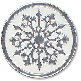 Foil Seal - Snowflake