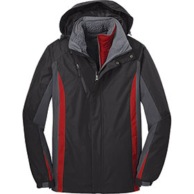 P/A Mens Colorblock 3-in-1 Jacket
