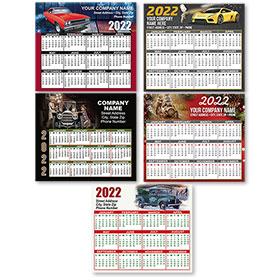 """Automotive Promotional Magnetic Calendar 3.5"""" x 4"""""""