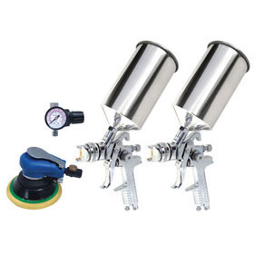 Titan 4-Piece HVLP Dual Setup Spray Gun Kit 19223