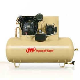 Ingersoll Rand Pneumatic 10HP 120-Gallon Horizontal Air Compressor 2545E10-FP