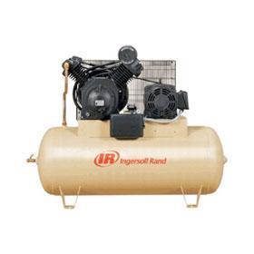 Ingersoll Rand Electric 10HP 120-Gallon Horizontal Air Compressor 2545E10-VP