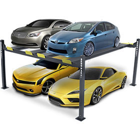 "BendPak 9,000-lb Super Wide 82"" Rise Car Lift HD-9SWX"